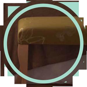 Banqueta patas de madera de alta calidad chippendale