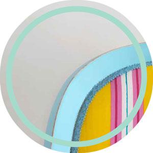 Sillon vincenzo respaldo tapizado